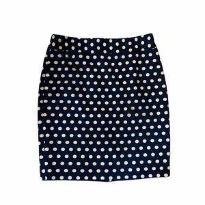 Loft Polka Dot Skirt